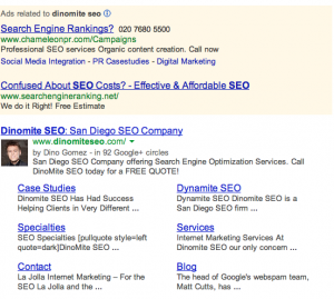 Google Authorship Inconsistencies